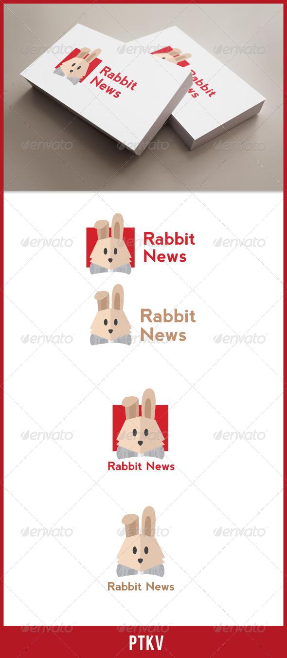 Rabbit News - Animals Logo Templates