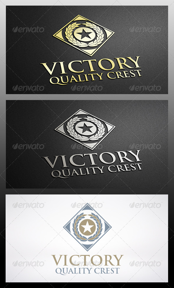 Victory Logo Template - Crests Logo Templates