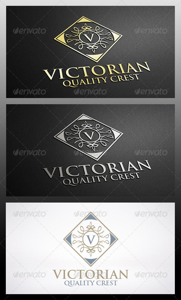 Victorian Logo Template - Crests Logo Templates
