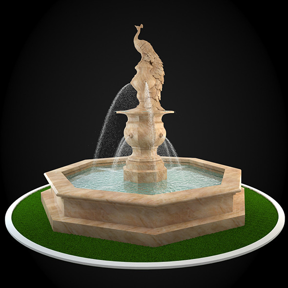 Fountain 042 - 3DOcean Item for Sale
