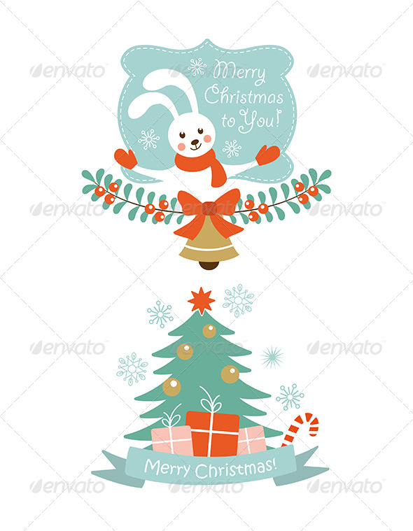 Christmas Vector Elements - Christmas Seasons/Holidays