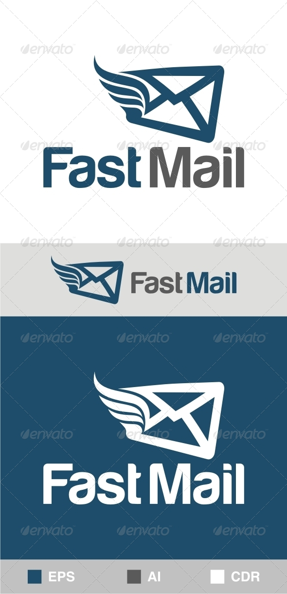 Fast Mail Logo - Objects Logo Templates