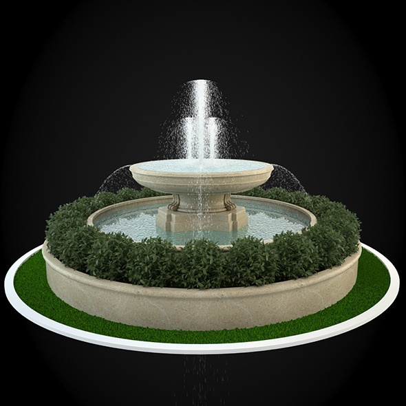 Fountain 044 - 3DOcean Item for Sale