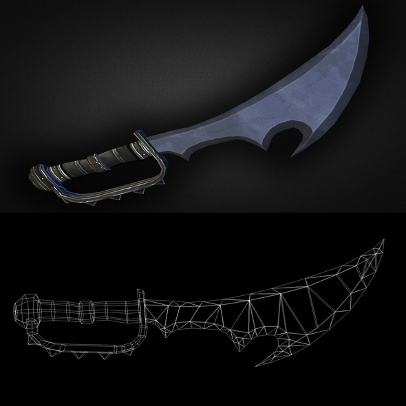 Dagger 05 - 3DOcean Item for Sale
