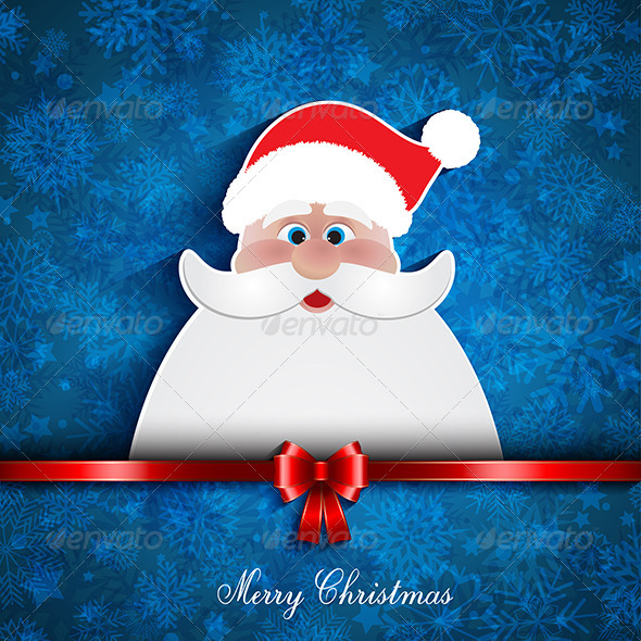 Christmas Santa Background - Christmas Seasons/Holidays