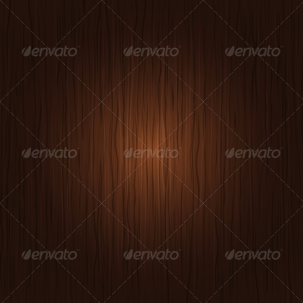 Vector Wooden Background - Backgrounds Decorative