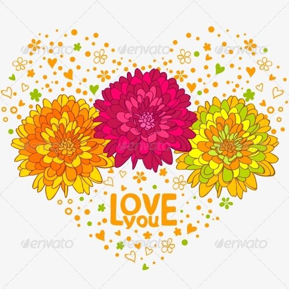 Flowers Hearts - Flowers & Plants Nature