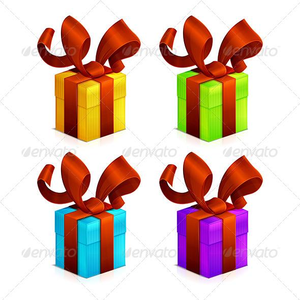Icons Christmas Gift - Seasons/Holidays Conceptual