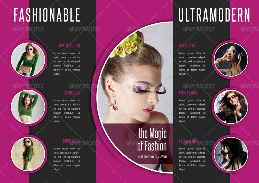 Fashion 3 Fold Brochure 09 By Rapidgraf Graphicriver