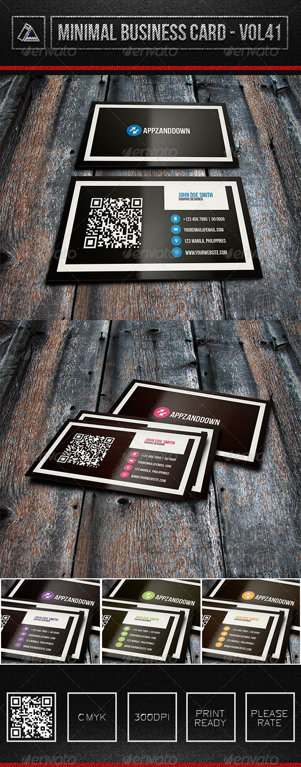 IntenseArtisan Business Card Vol.41 - Corporate Business Cards