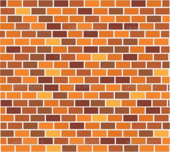 Wall of Capacity Brick - Backgrounds Decorative