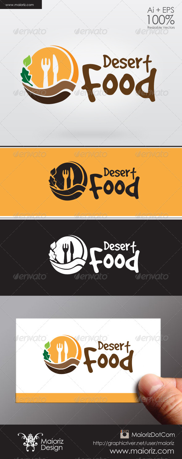 Desert Food Logo - Food Logo Templates