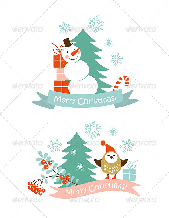 Christmas Graphic Elements - Christmas Seasons/Holidays