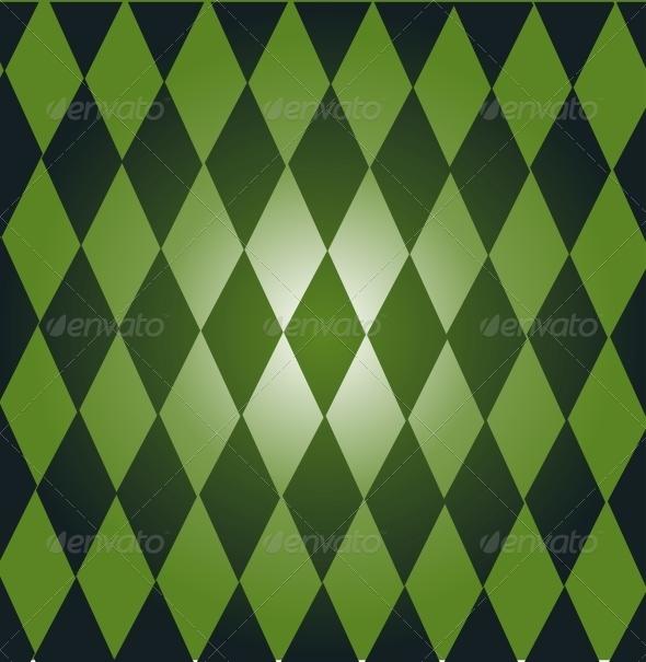 Green Dominoes - Backgrounds Decorative