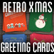 Retro xMas Greeting Card Pack #1 - GraphicRiver Item for Sale