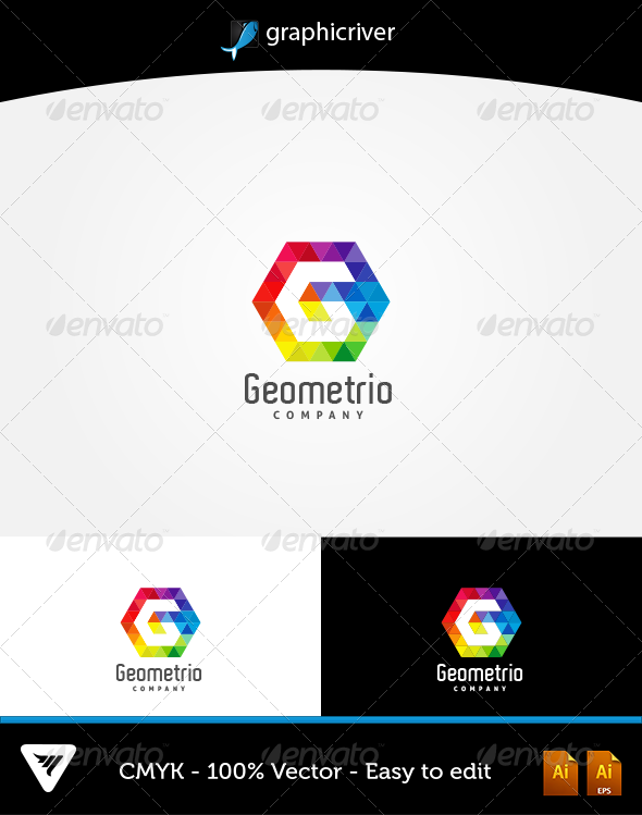 Geometrio Logo - Logo Templates