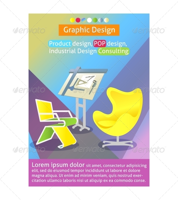 Industrial Design Poster Template - Concepts Business