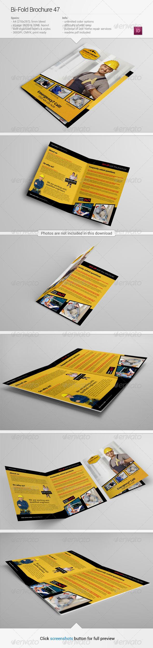 Bi-Fold Brochure 47 - Informational Brochures