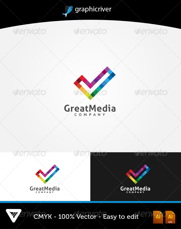 GreatMedia Logo - Logo Templates