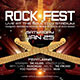 Rock Fest Concert Flyer - GraphicRiver Item for Sale