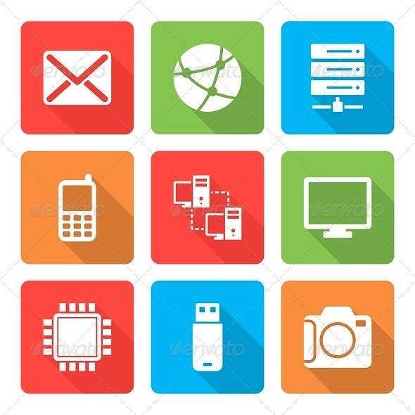 Tech Technology Icons from GraphicRiver (Page 7)