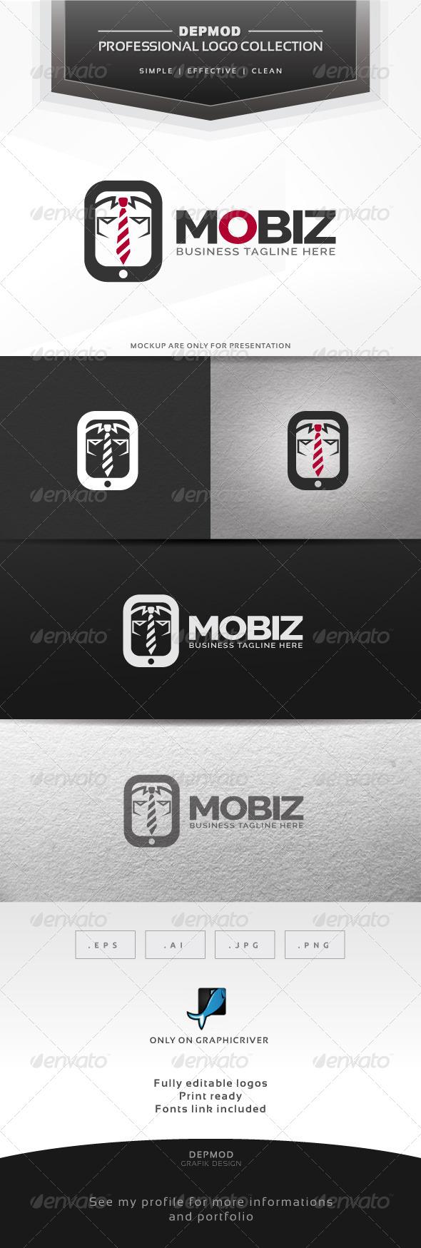 Mobiz Logo - Symbols Logo Templates