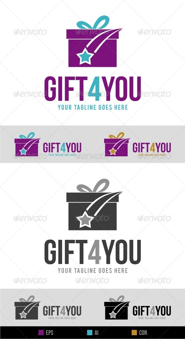 Gift Shop Logo - Objects Logo Templates