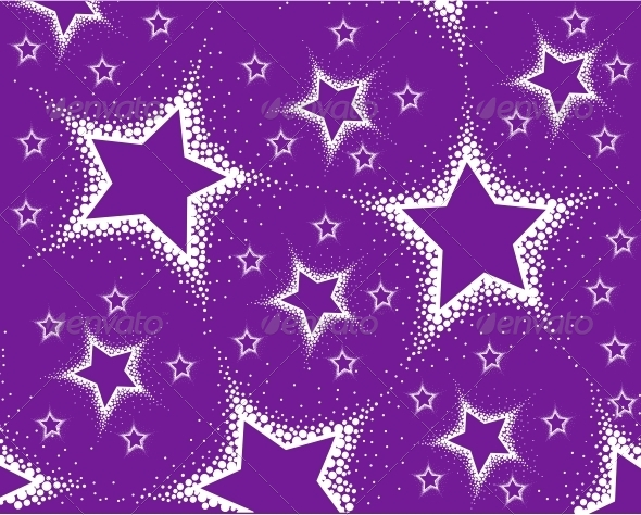 Background from Stars - Patterns Decorative