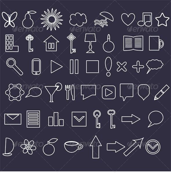 Icons Set - Web Technology
