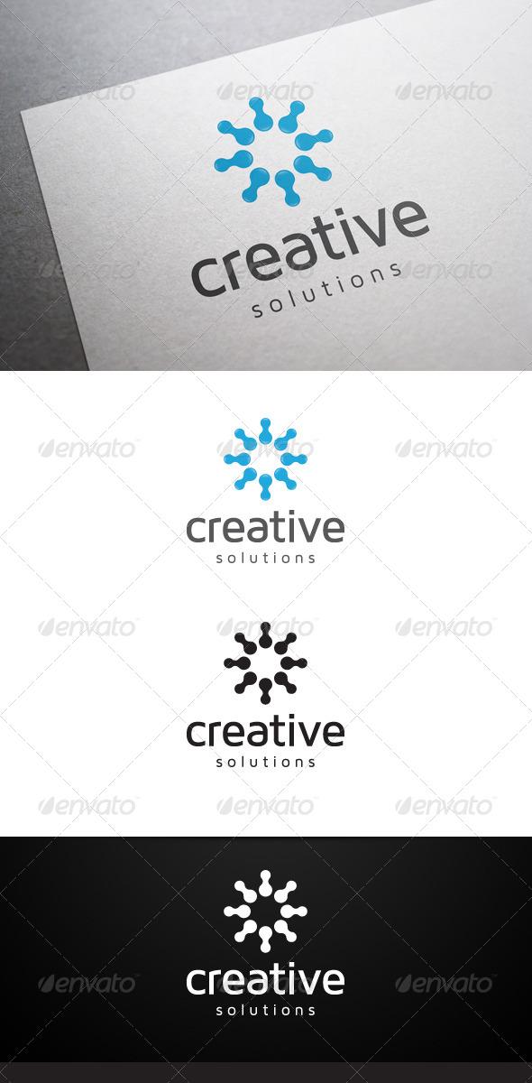 Creative Solutions Logo - Abstract Logo Templates