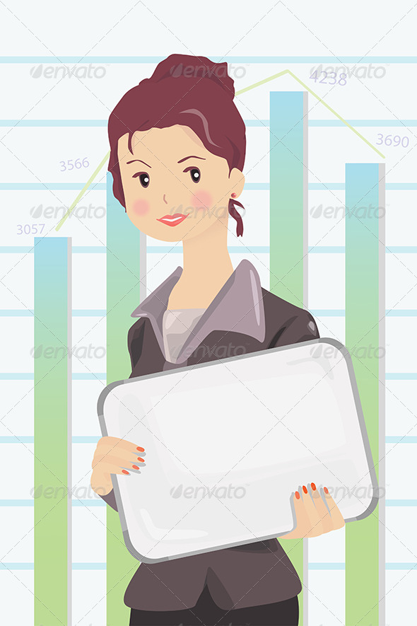 Businesswoman - Business Conceptual