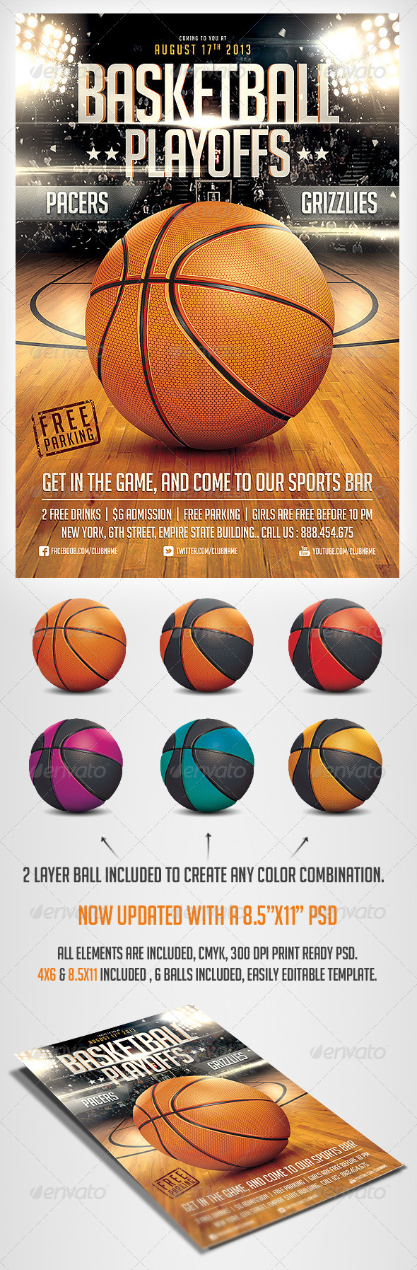 sports day poster template - basketball game flyer template by saltshaker911 graphicriver
