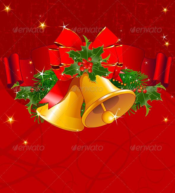 Red Christmas Background - Christmas Seasons/Holidays