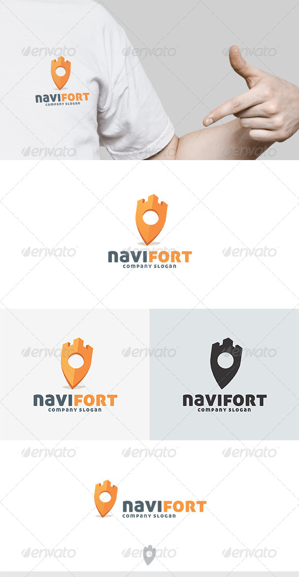 Navi Fort Logo - Objects Logo Templates