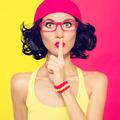 Portrait of stylish women the secret - PhotoDune Item for Sale