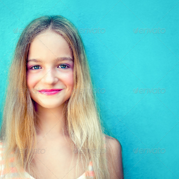 Pretty Teen Girl - Stock Photo - Images