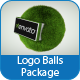 Logo Balls Package - VideoHive Item for Sale