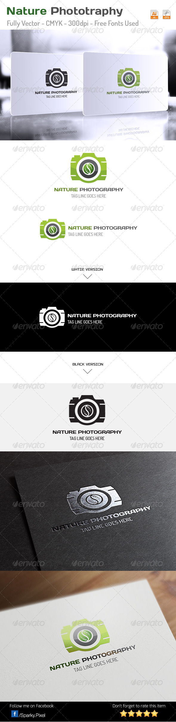 Nature Photography Logo - Symbols Logo Templates