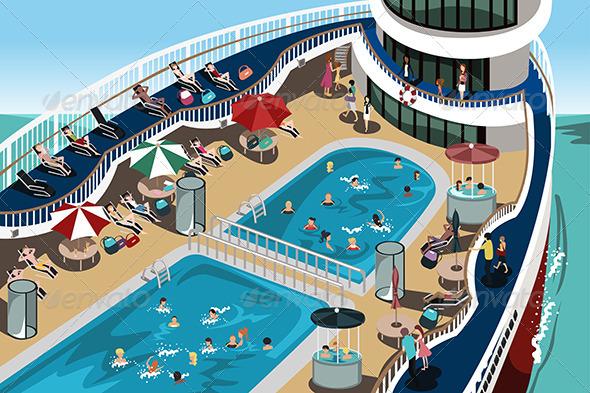 Cruise Vacation - Travel Conceptual
