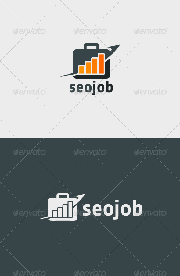 SEO Job Logo - Objects Logo Templates