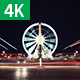 Paris Ferris Wheel Timelapse 4K - VideoHive Item for Sale