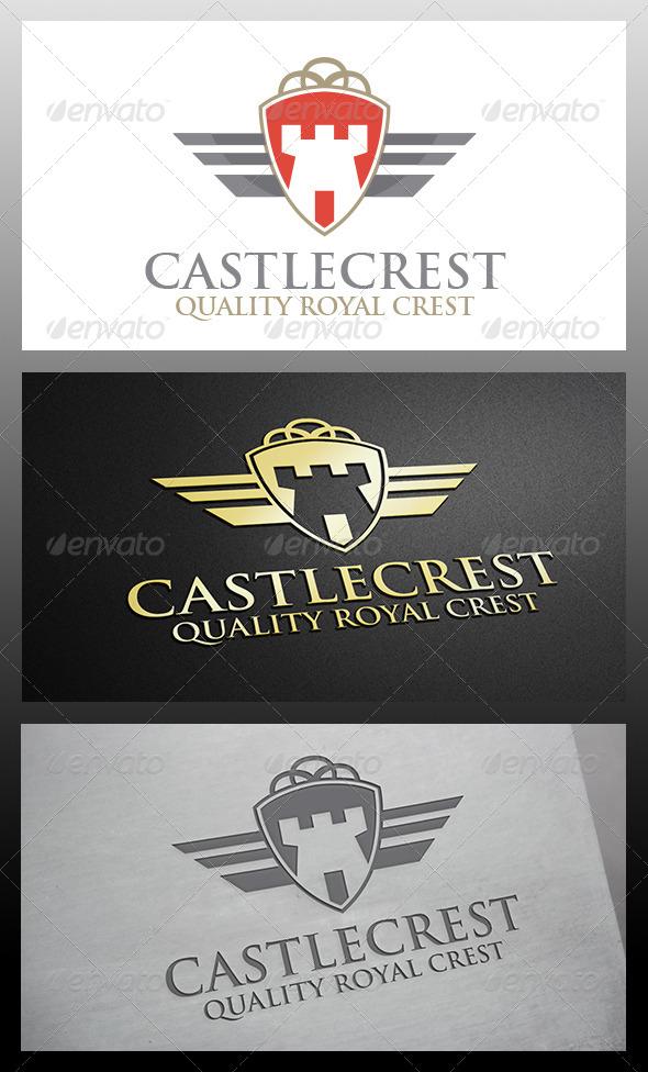 Castle Crest Logo - Crests Logo Templates