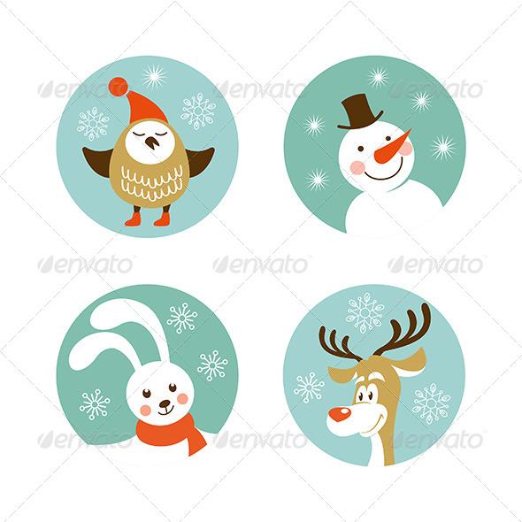 Christmas Characters - New Year Seasons/Holidays