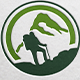 Trekking Adventure Logo - GraphicRiver Item for Sale