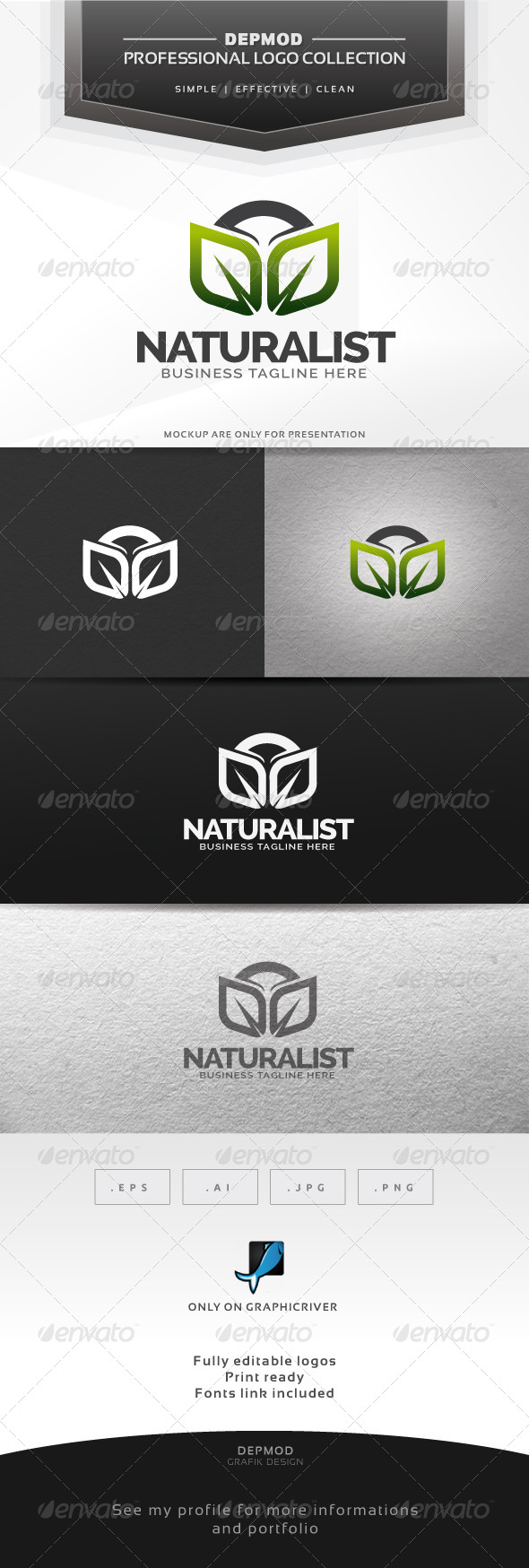 Naturalist Logo - Symbols Logo Templates