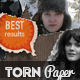 Torn Paper Photoshop Actions - GraphicRiver Item for Sale