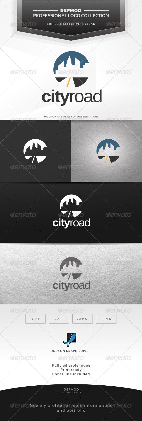 City Road Logo - Symbols Logo Templates