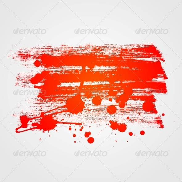 Abstract Paint Banner Background - Backgrounds Decorative