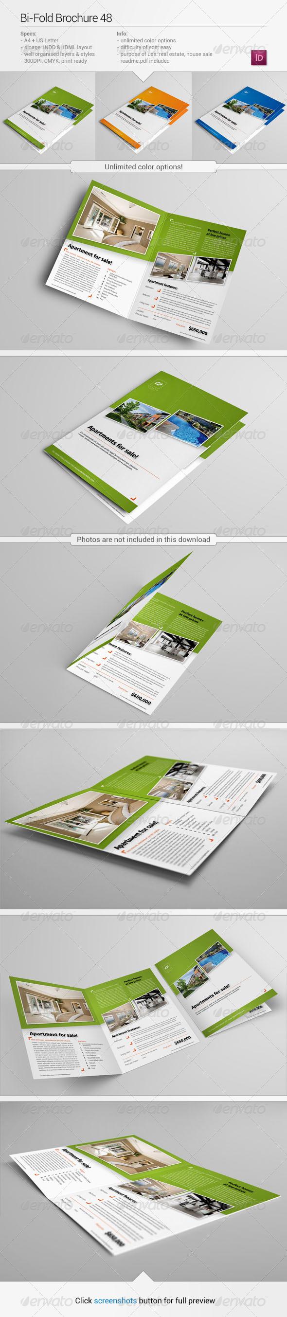 Bi-Fold Brochure 48 - Informational Brochures