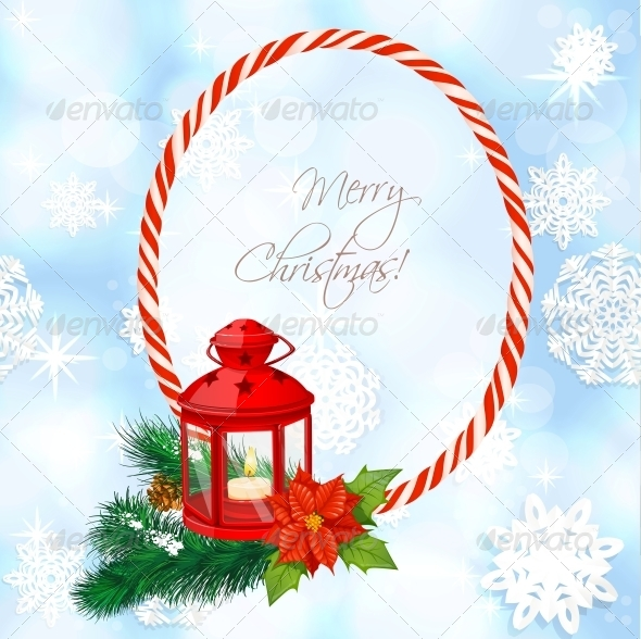 Christmas Background with Flashlight  - Christmas Seasons/Holidays
